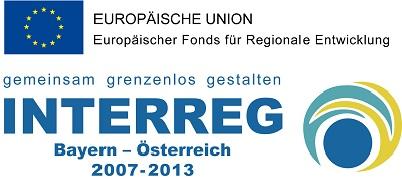 Für mehr Infos bitte das Interreg-Logo anklicken